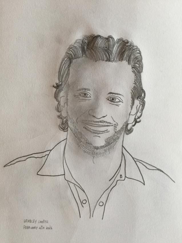 Bradley Cooper by GeorgiePie